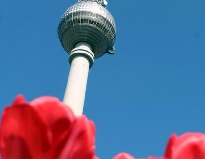 Texter in Berlin - im Frühling