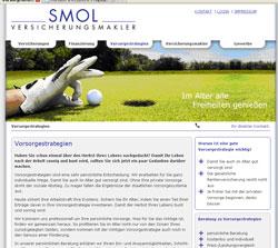 Texte und Homepage für Versicherungsmakler.